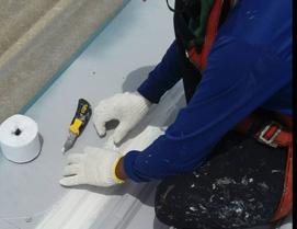 アステックペイントの工事内容 漏水補修画像