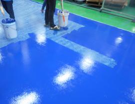 アステックペイントの工事内容 床塗装画像