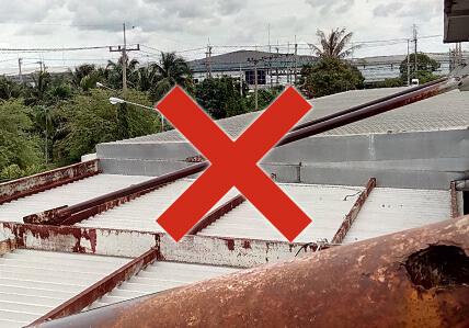 タイでの建設工事状況 放っておくとこうなる画像