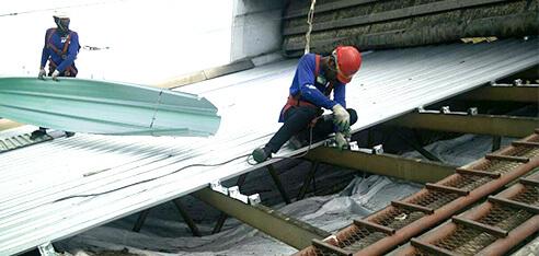 屋根塗装工事 全面張り替え用画像