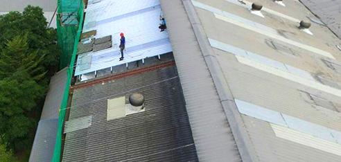 屋根塗装工事 全面、防水塗装工事用画像