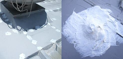 屋根塗装工事 部分的補修用画像