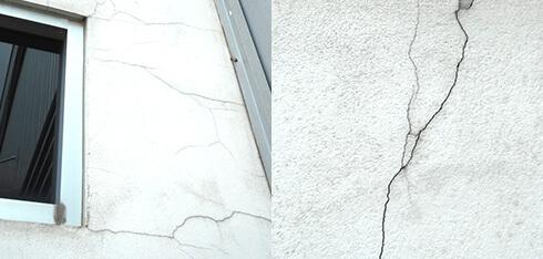 外壁塗装工事 ひび割れ用画像