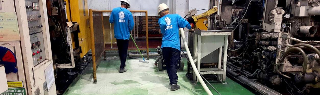 私たちのサービス 床塗装用画像