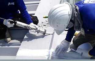 工事の流れ 防水処理用画像