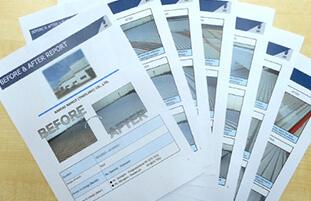 工事の流れ 工事完了報告書の提出用画像