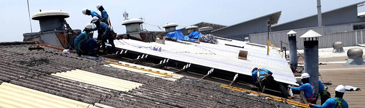私たちのサービス 屋根の葺き替え用画像