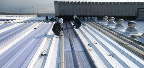 屋根葺き替え スカイライトの交換