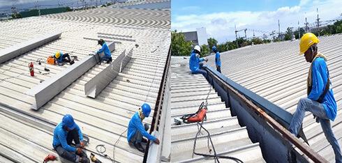 屋根葺き替え 樋の交換